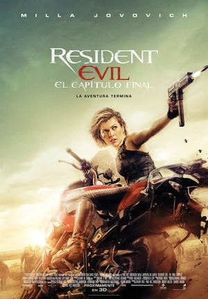 Poster Resident Evil: The Final Chapter 2016