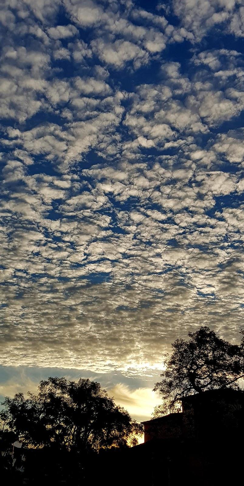 as nuvens encantadas