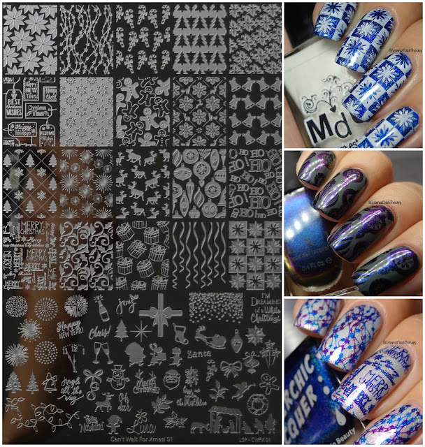 Lina Nail Art Supplies | Can't Wait For Xmas! 01