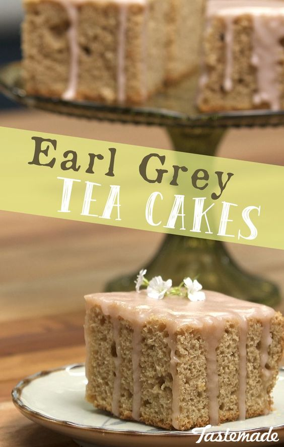Earl Grey Tea Cakes