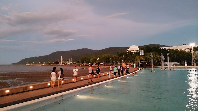Cairns, Esplanade, Queensland
