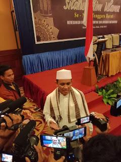 Puluhan alim ulama dan Akademisi di Nusa tenggara barat gelar silaturahim dalam rangka meneguhkan Ukhuwah Islamiyyah dan ukhuwah Wathaniyah