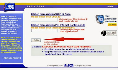 Mudah Transaksi Dengan Internet Banking BCA