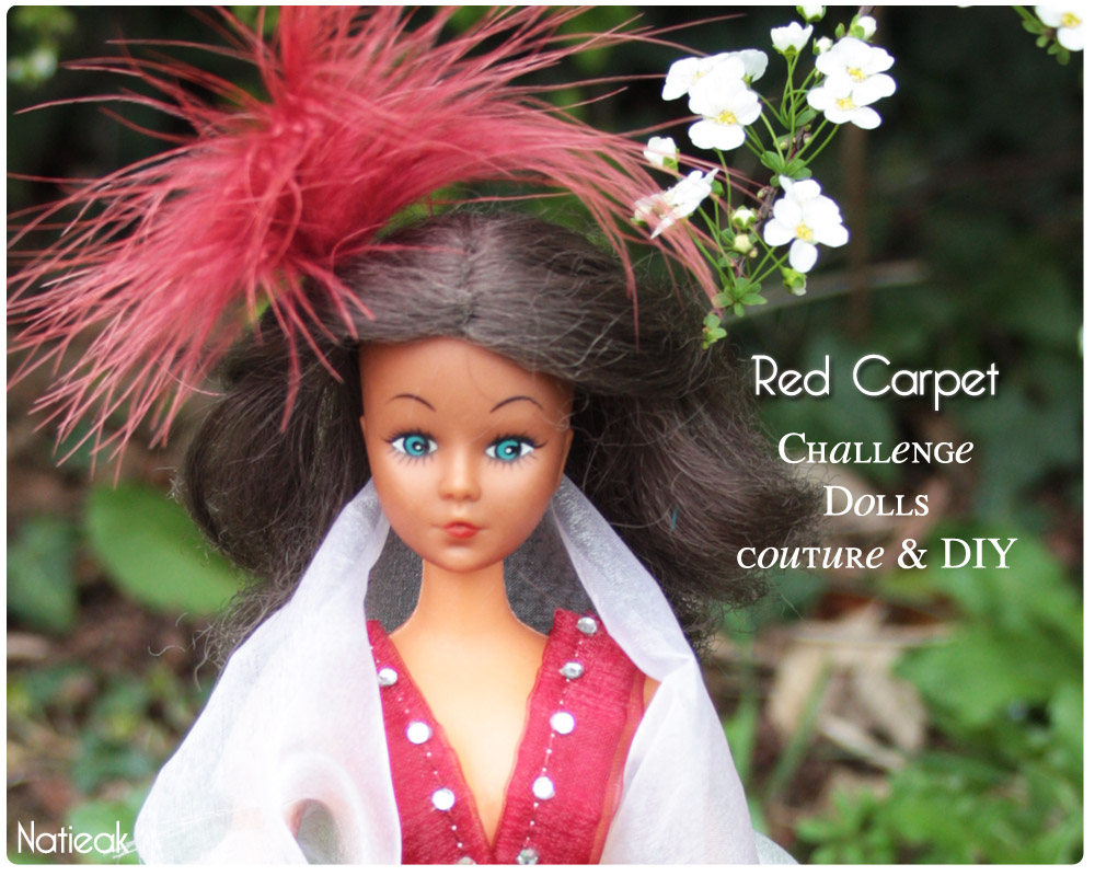 Challenge Dolls couture & DIY   Défi Red Carpet