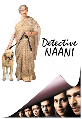 Poster Of Bollywood Movie Detective Naani (2009) 100MB Compressed Small Size Mobile Movie Free Download worldfree4u.com