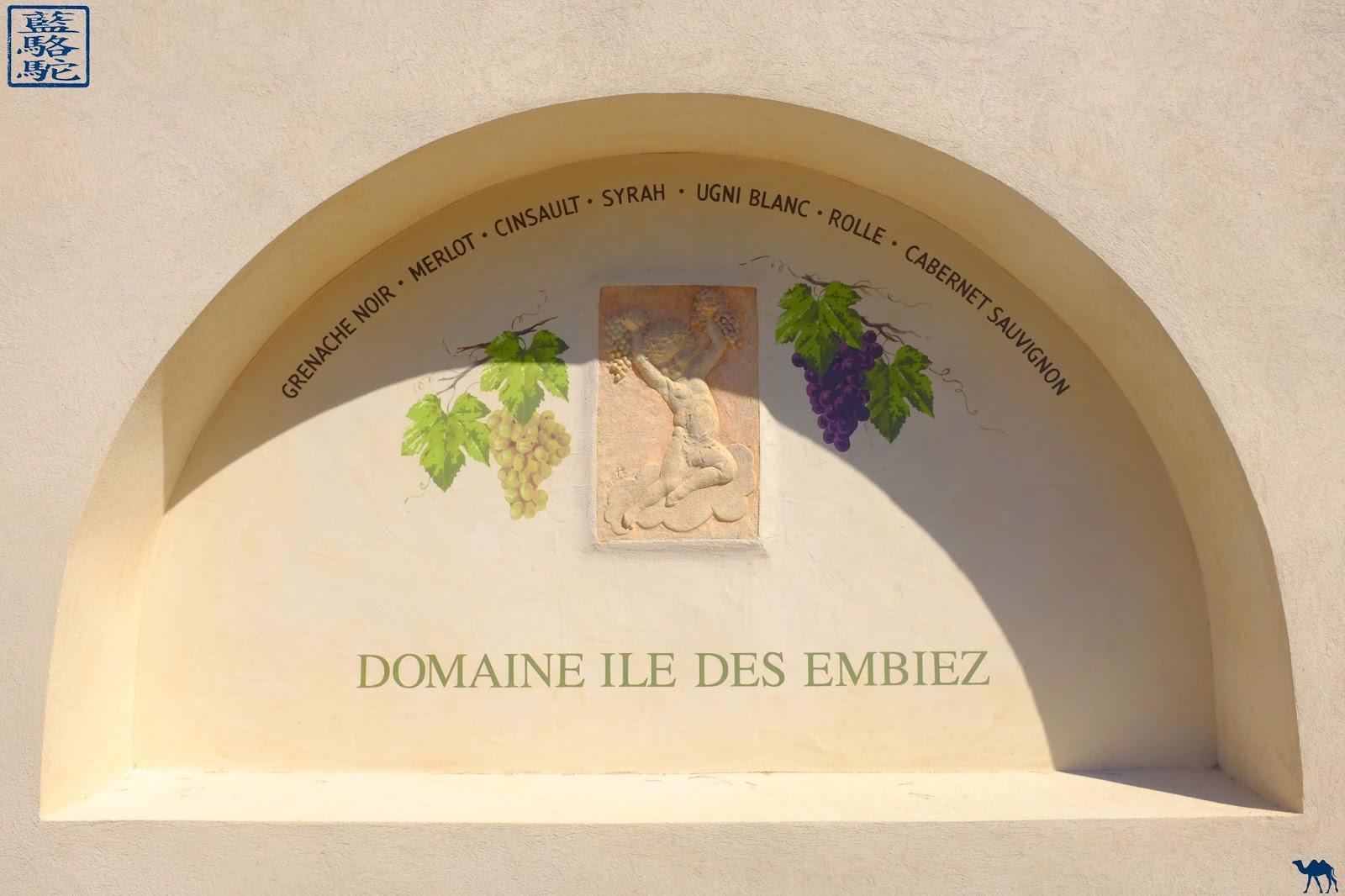 Le Chameau Bleu - Vignes de l'ile des Embiez - Var - vacances sud est