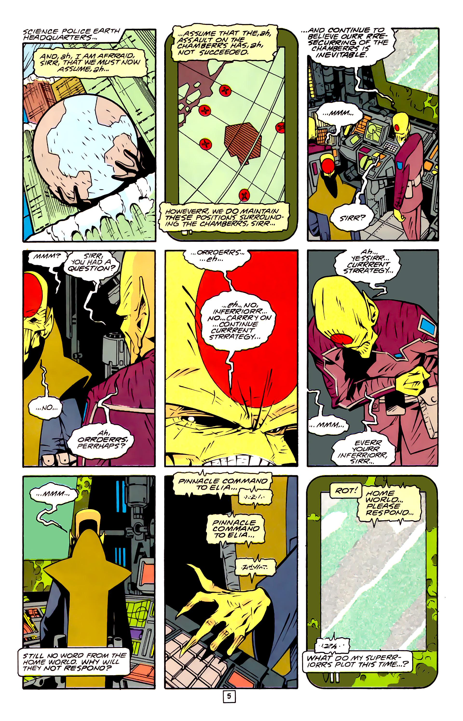 Legion of Super-Heroes (1989) 32 Page 5