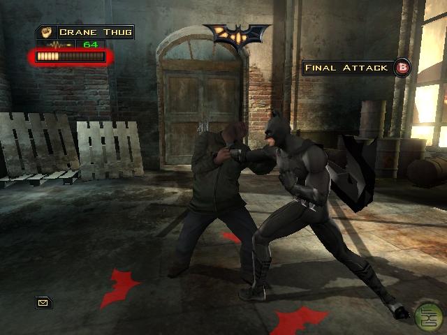 .Addicted in Games: Batman Begins - PS2, Xbox, GameCube - 2005