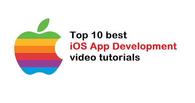 Top 10 best iOS App Development video tutorials