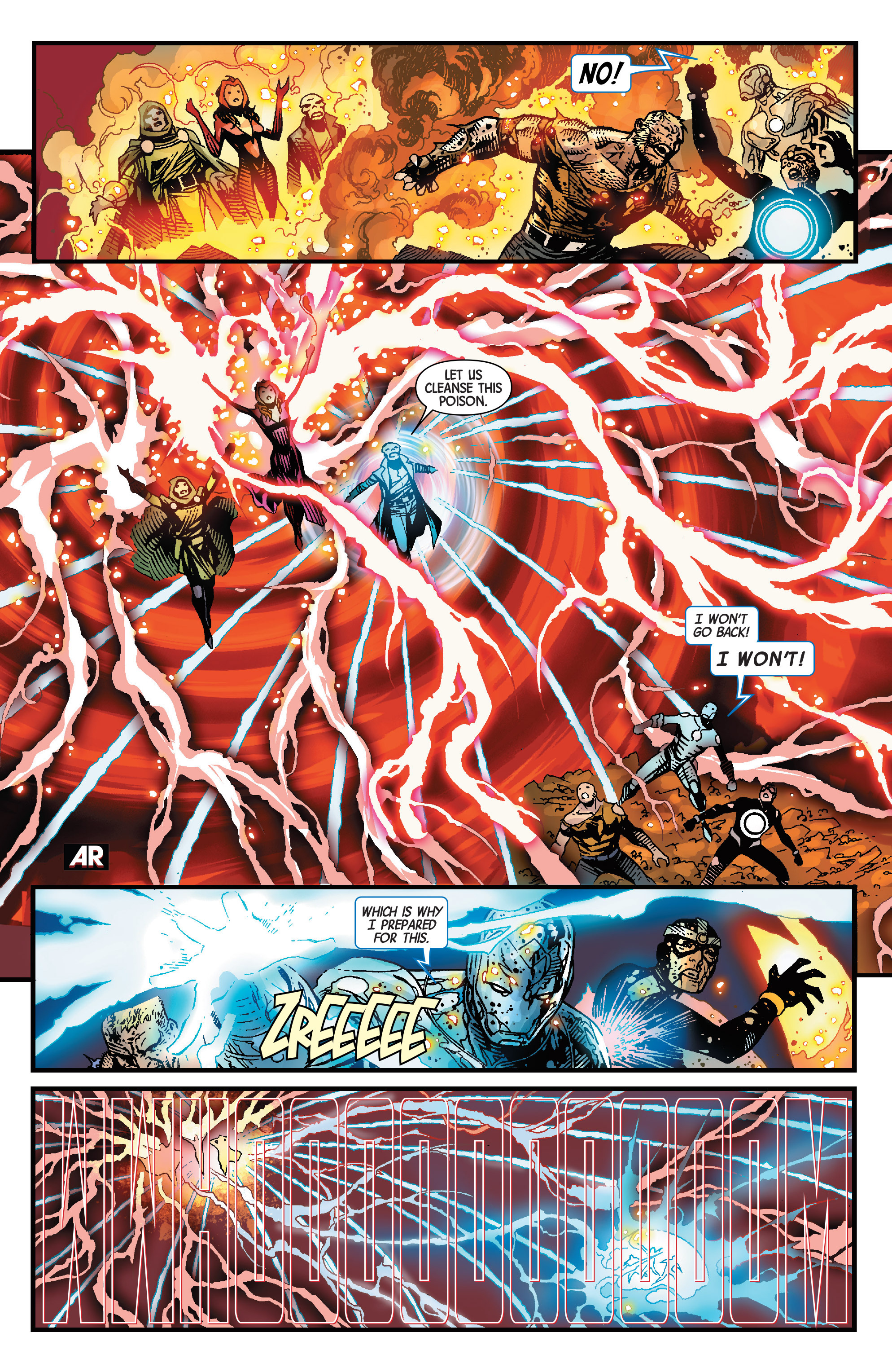 Read online Avengers & X-Men: AXIS comic -  Issue #9 - 31