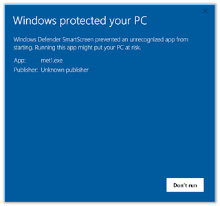 Windows protected your PC imagen