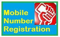 Aadhaar card mobile number registration