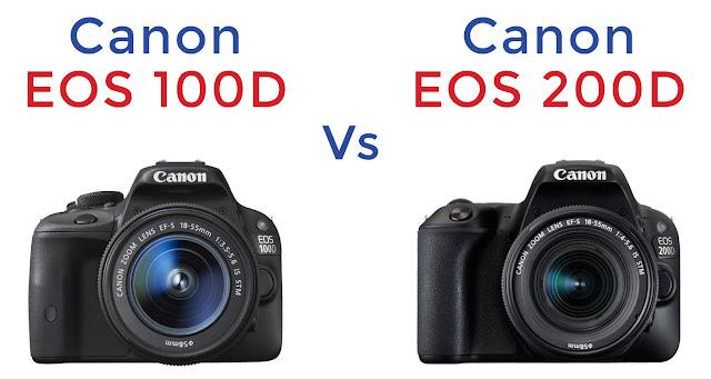 Canon 100D vs 200D