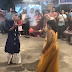 Sushmita Sen performing Dhunuchi dance at Durga Puja celebration with daughters!
