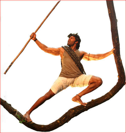 kadamban movie working stills