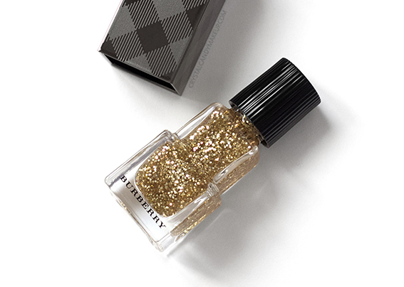 Burberry No. 451 Gold Glitter Nail Polish Review