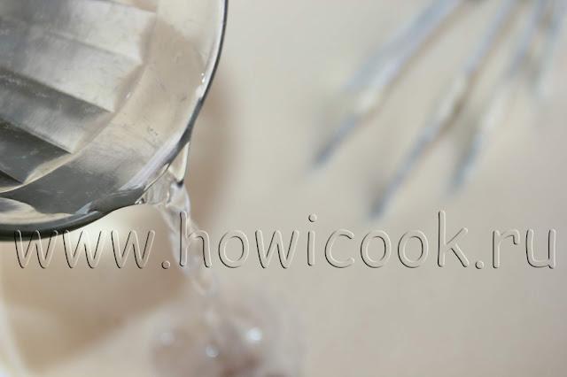 рецепт блинов на воде с пошаговыми фото