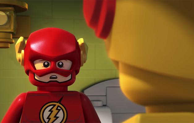 lego dc super heroes, flash, filmy, recenzja, galapagos, animacja