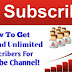 SubscribeZ Site Se Youtube Channel Par Subscribers Kaise Badhaye? (Online Sub4Sub Methode)