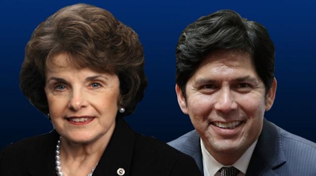 Fellow Democrat Kevin DeLeon squeaks through primary to take on Feinstein