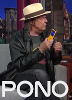 Neil Young mit Pono-Player