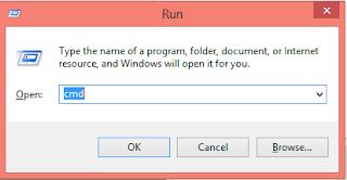 Cara format flashdisk menggunakan Command Prompt ( CMD )