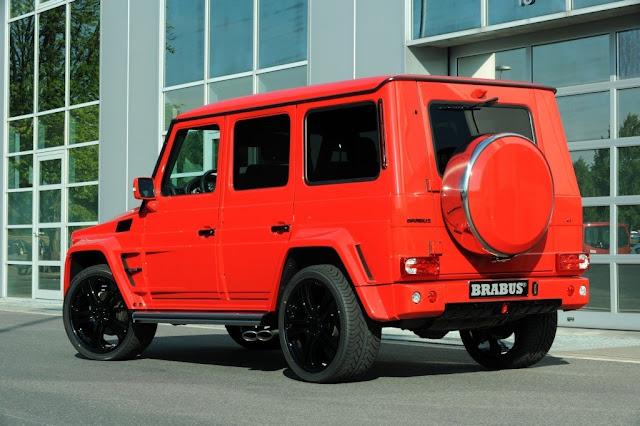 gelandewagen brabus red