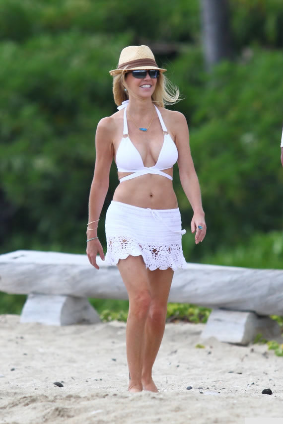 Heather Locklear en bikini