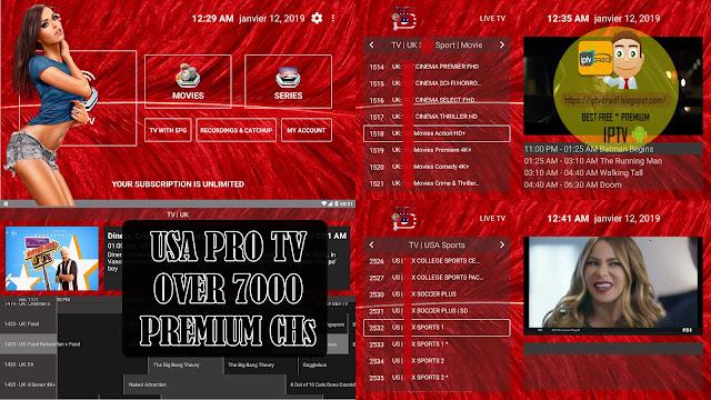 USA PRO TV PREMIUM IPTV TO WATCH BEST PREMIUM CHANNELS +  CODES NO LIMIT