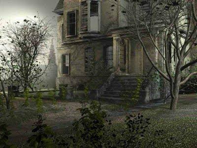 Resultado de imagem para Casas velhas e assustadoras