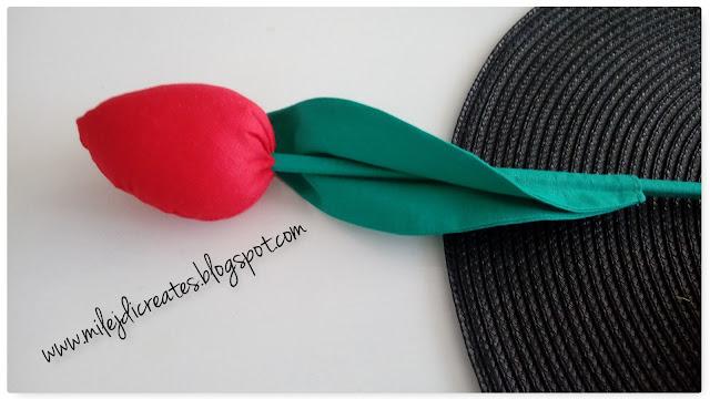 Jak zrobić uszyć tulipany z materiału? DIY. Tulipany szyte ręcznie, tulipany handmade