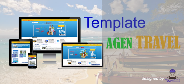 Template blogspot untuk Agen Travel Wisata