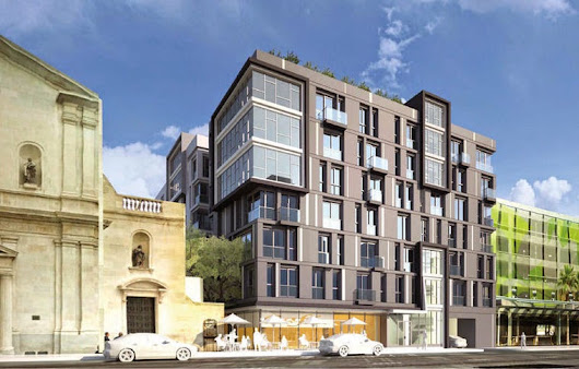Vibiana-Adjacent Residential Complex Breaks Ground