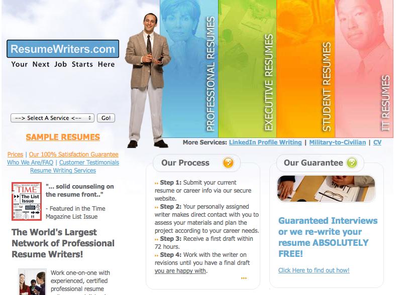 Professional it resume writing service