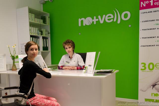 blogger galatean testeaza serviciile salonului de infrumusetare Nomasvello