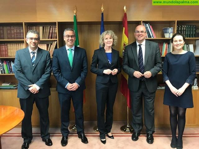 La Palma busca la colaboración de Irlanda para homenajear a los precursores de la democracia en la isla