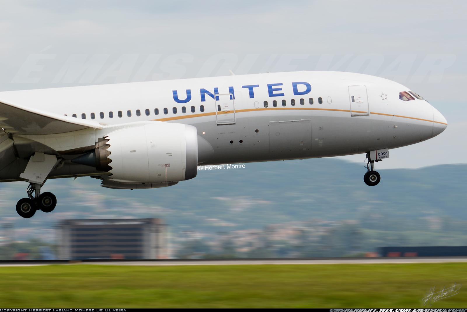 United Airlines anuncia atualização da frota