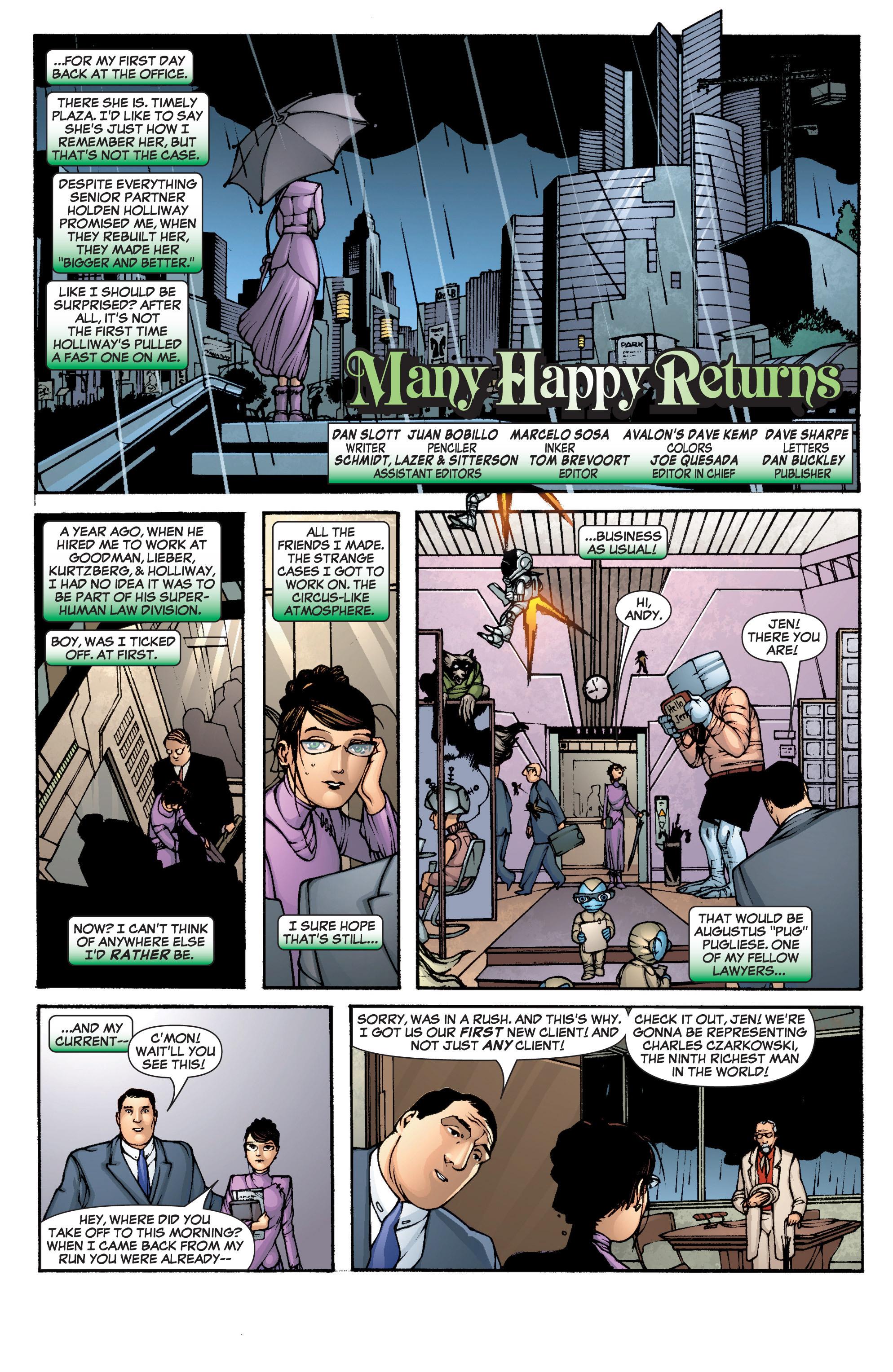 Read online She-Hulk (2005) comic -  Issue #1 - 6