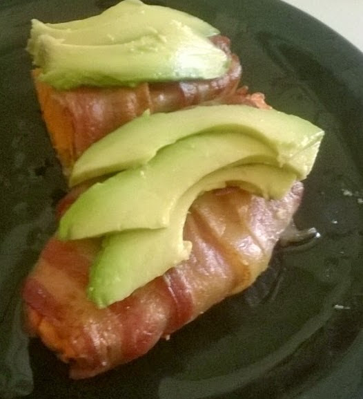 The BAY- A BLT Inspired Paleo Bacon Wrap