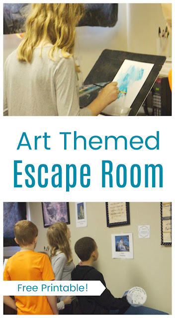 Homeschool Cooperative Art Escape Room