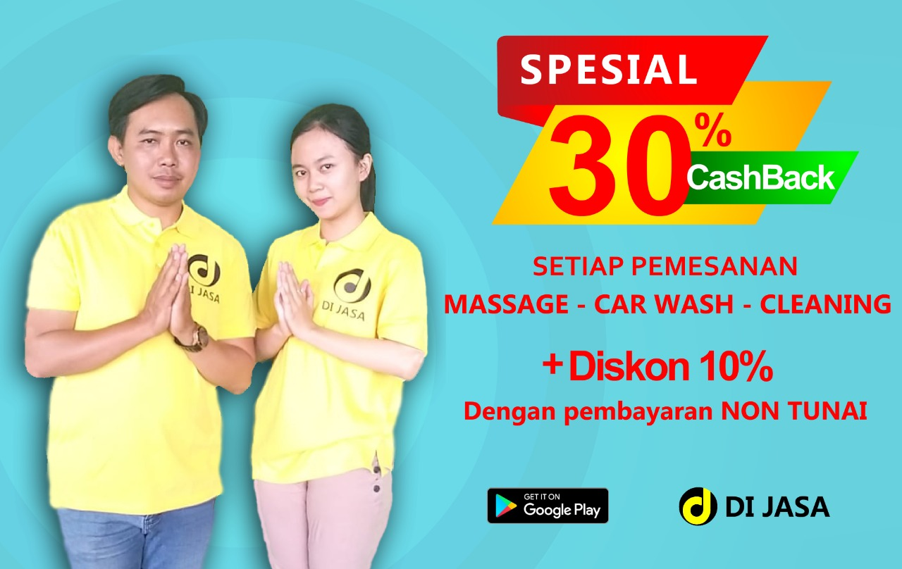 PROMO MASSAGE CARWASH CLEANING
