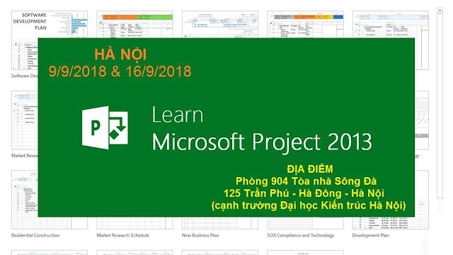 Khóa học gia tốc về MS Project tại Hà Nội K1