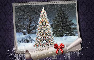 Merry Christmas Wallpaper for Twitter