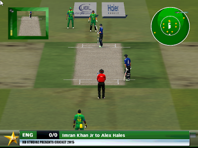 Dream Green Series 2015 Pakistan vs England Patch For Cricket 07