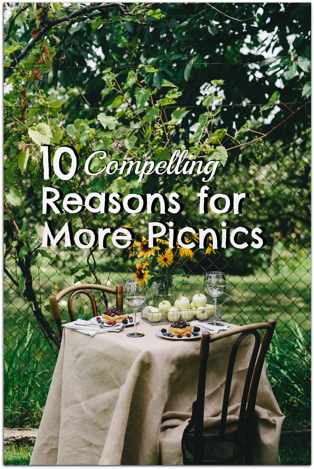 Around The Table Book 10 Reasons For More Picnics