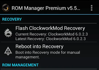 Cara Install CMW Recovery di Android