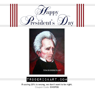 President's Day Sale 20% off everything Coupon code: CHOP20