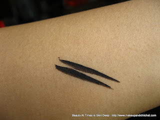 Isadora Colorful Eyeliner 10 Black swatch