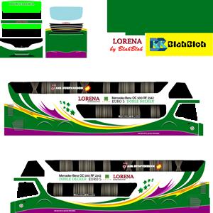 Livery Bussid Bimasena Lorena SDD
