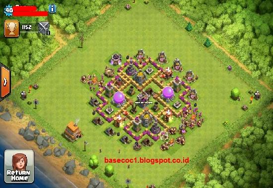 Kumpulan Base Coc Th 6 Terkuat 1